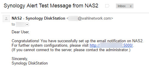 1email-test-successful
