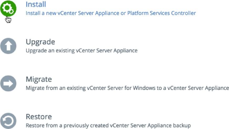 vcsa-deploy-menu
