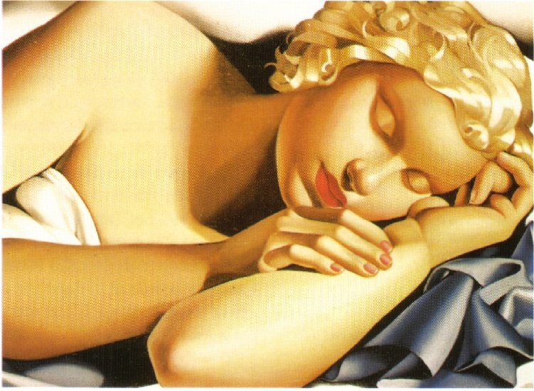 Tamara de Lempicka –Dormeuse