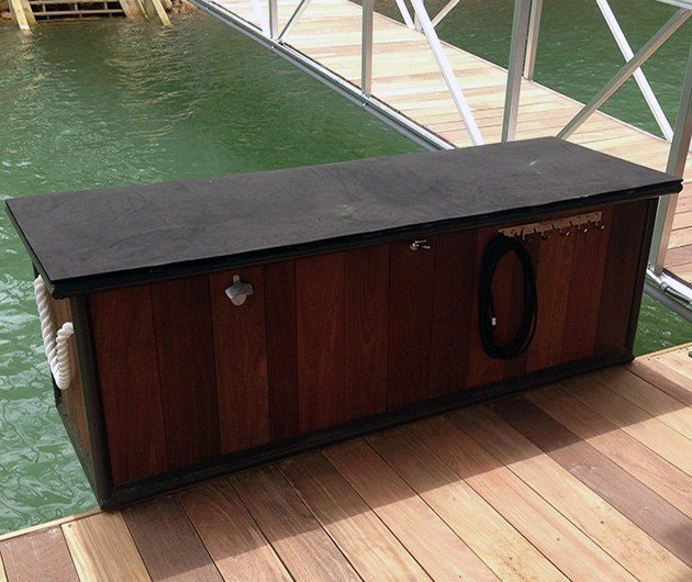 Boat Dock Accessories Finishing Touches v