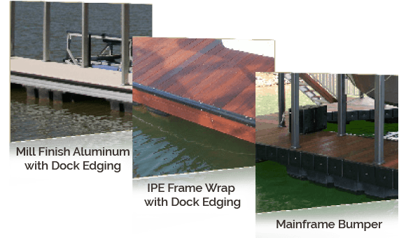 Wahoo Aluminum Docks Dock Frame