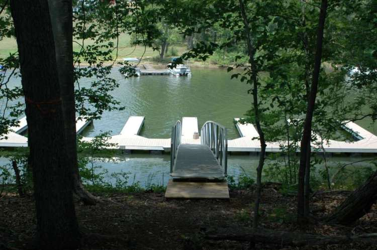wahoo aluminum dock multi slip community dock with dock gangway