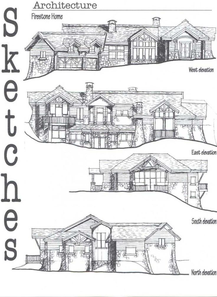 Private residence Sketches