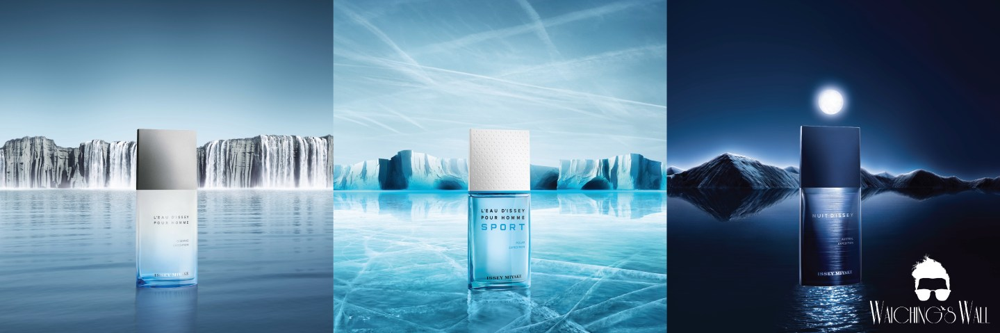Fragrance Review : INTRODUCING ISSEY MIYAKE'S TRILOGY FOR MEN