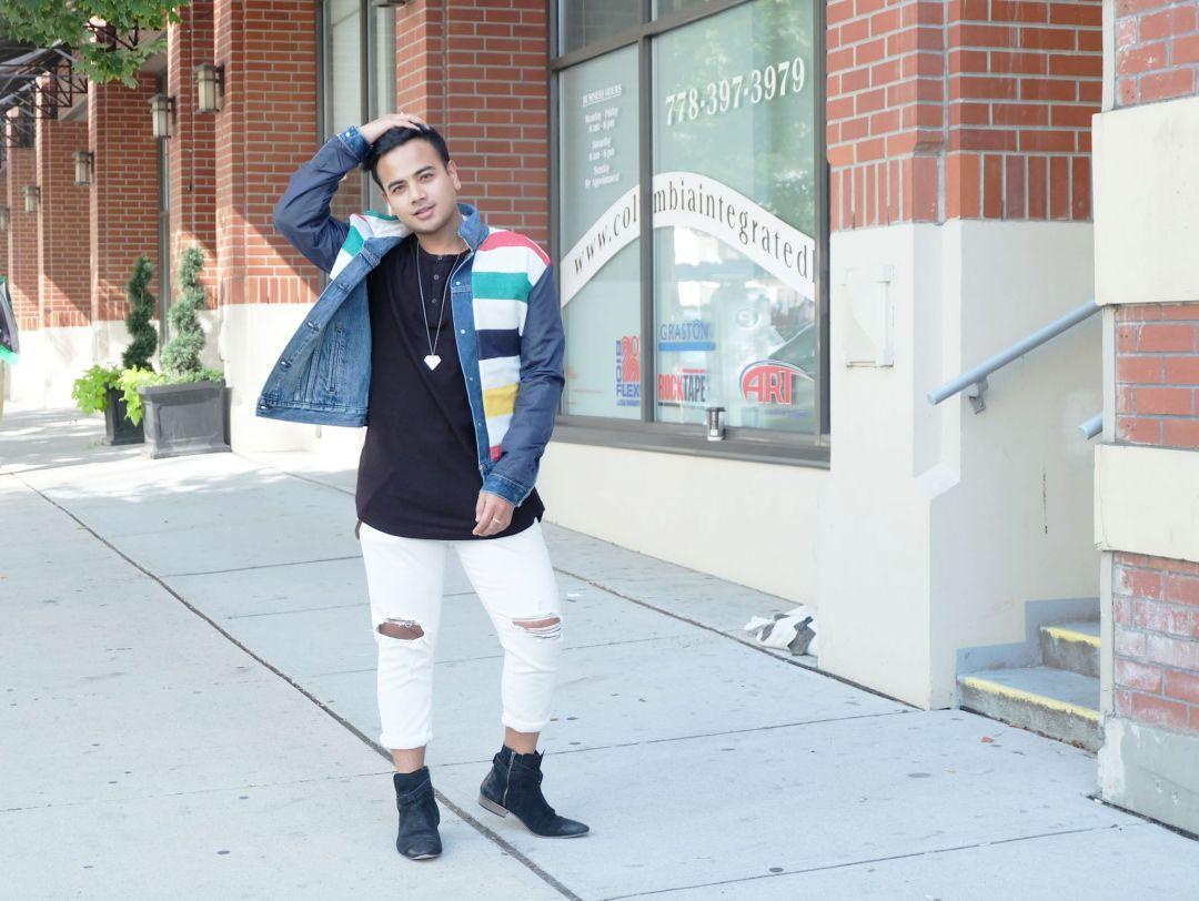 Jonathan Waiching Ho_Levis Denim Jacekt_Top Bloggers Canada_Influencer in Vancouver_10