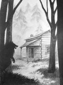 Porter's Hollow Book Cover Art - Sketch - Work in Progress