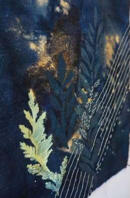 Mia Bennett- Screen Printed/ Bleach Embroidery