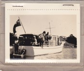 Family aboard - early days
