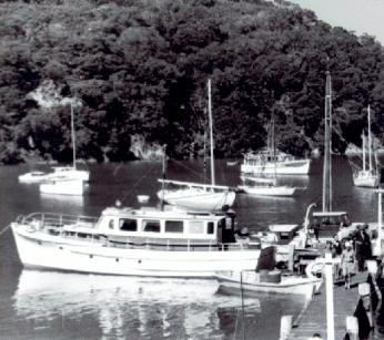 MAHARATIA AT LIDGARDS - SMELTING HOUSE BAY 1950s