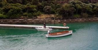 Otira enters the lagoon