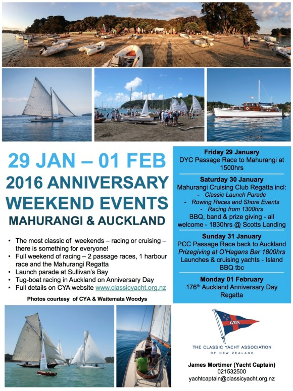 anniversary weekend 2016 poster
