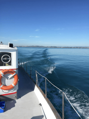 WAIRANGI- THE JOURNEY NORTH - PICTON TO AUCKLAND- PT 1- SEA TRIAL FEB 2016