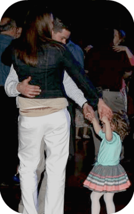 mikayla dancing with both