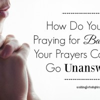 Q&A: How Do You Keep Praying for Babies When Your Prayers Continue to Go Unanswered?