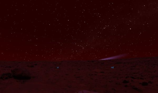 The view from Mars… | WAITING FOR ISON