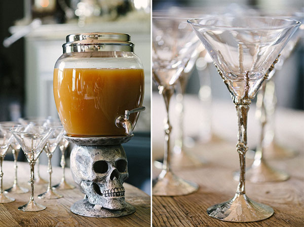Warm Bourbon Punch for Halloween, Waiting On Martha