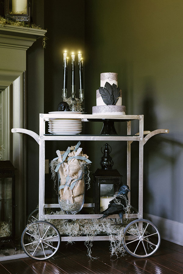 A Halloween Bar Cart, Waiting On Martha