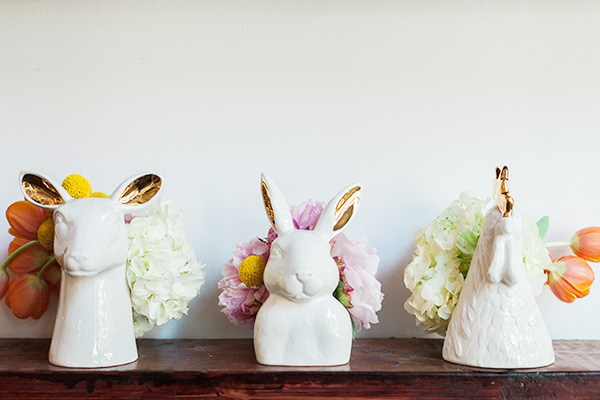 Decorating With Flowers Quirky Animal Vases