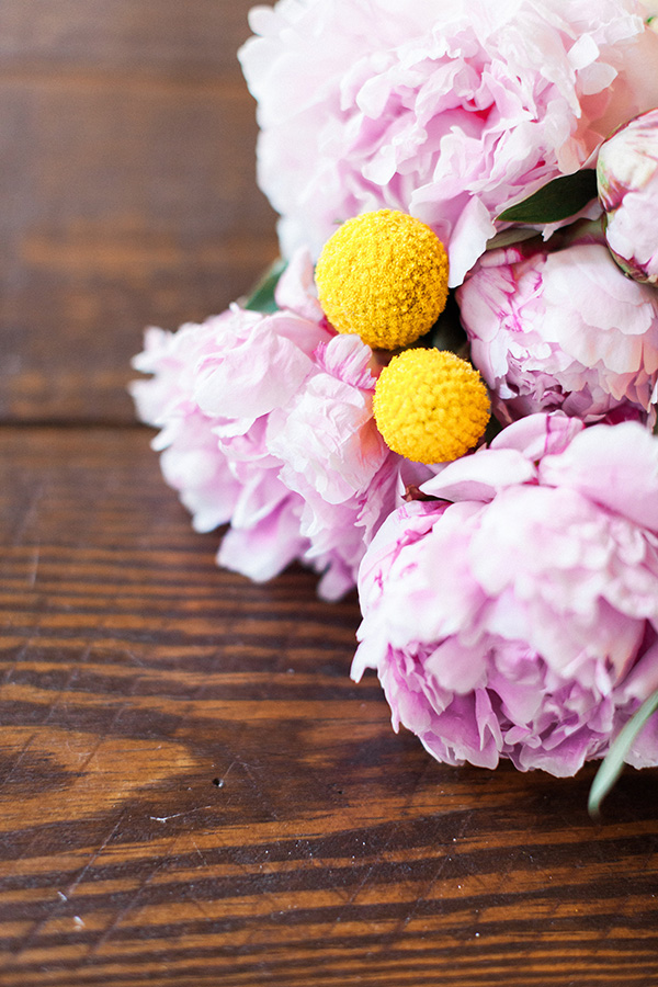 hostess gifts, simple flowers from Waiting On Martha