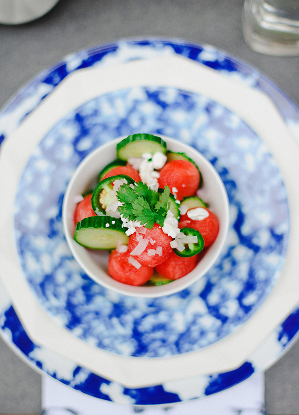 Spicy Watermelon Salad, Waiting On Martha