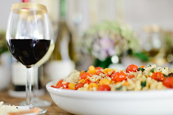 Roasted Tomato Capellini recipe, Waiting On Martha