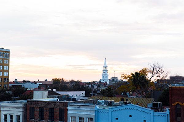 Charleston skyline, Waiting on Martha