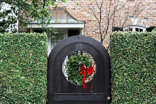 Charleston holiday wreaths