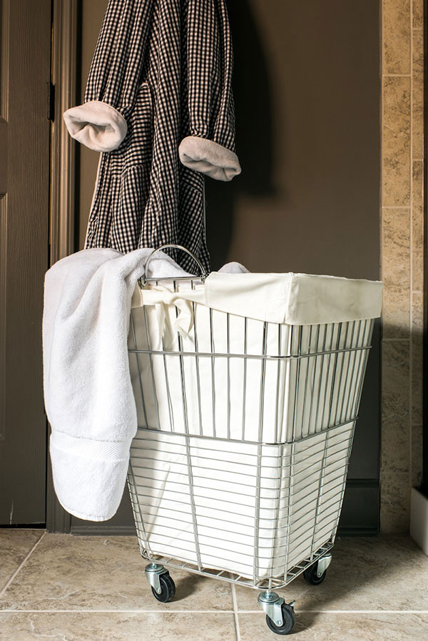 Bathroom Organization, Waiting on Martha | Photo by Rustic White Photography