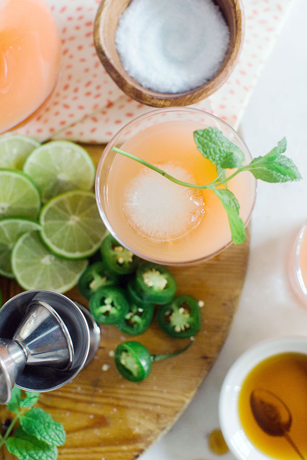 The Paloma recipe; grapefruit, lime and tequila cocktail