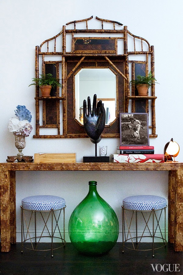 A CONSOLE TABLE