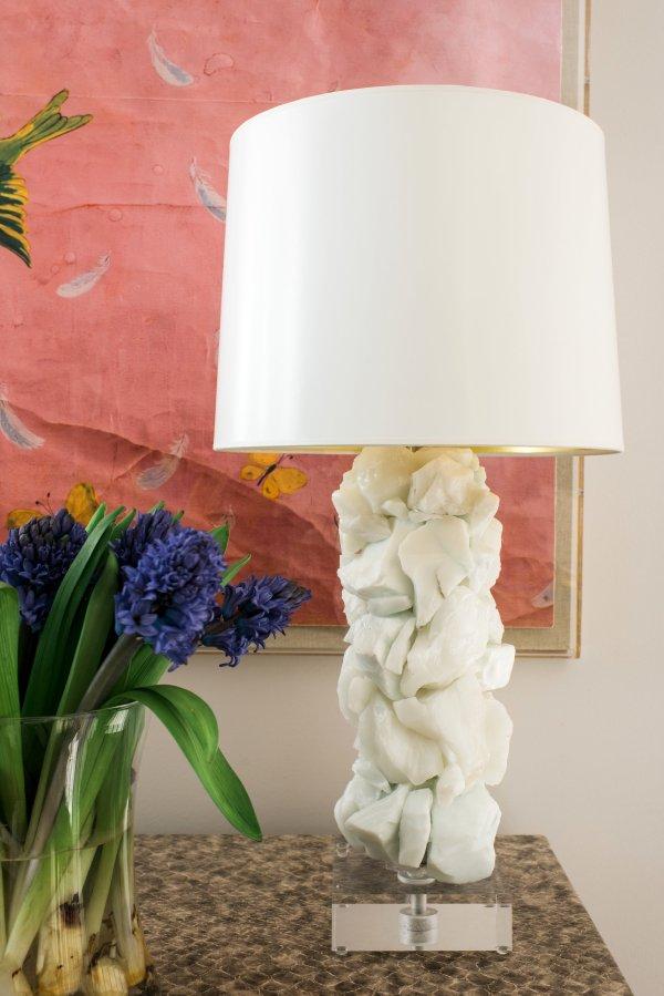 Statement Lamp for One Room Challenge Week Three, Waiting on Martha