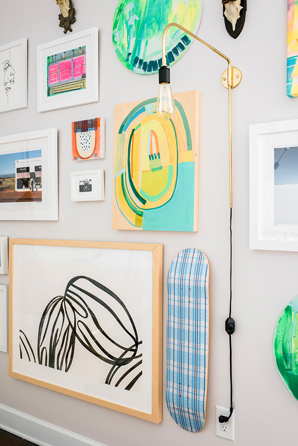 Eclectic Gallery Wall Inspiration, Waiting On Martha