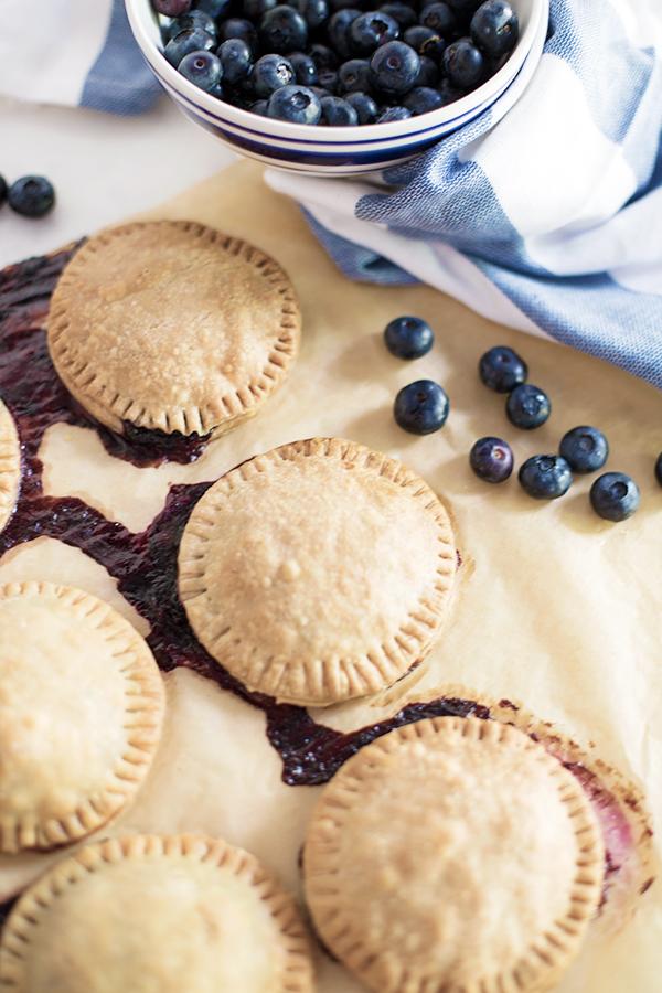 Blueberry hand pie recipe