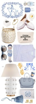 Blue and White Items to Buy This Summer, Waiting on Martha