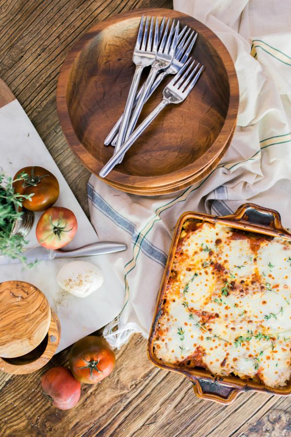 Healthy Spaghetti Squash Lasagna recipe