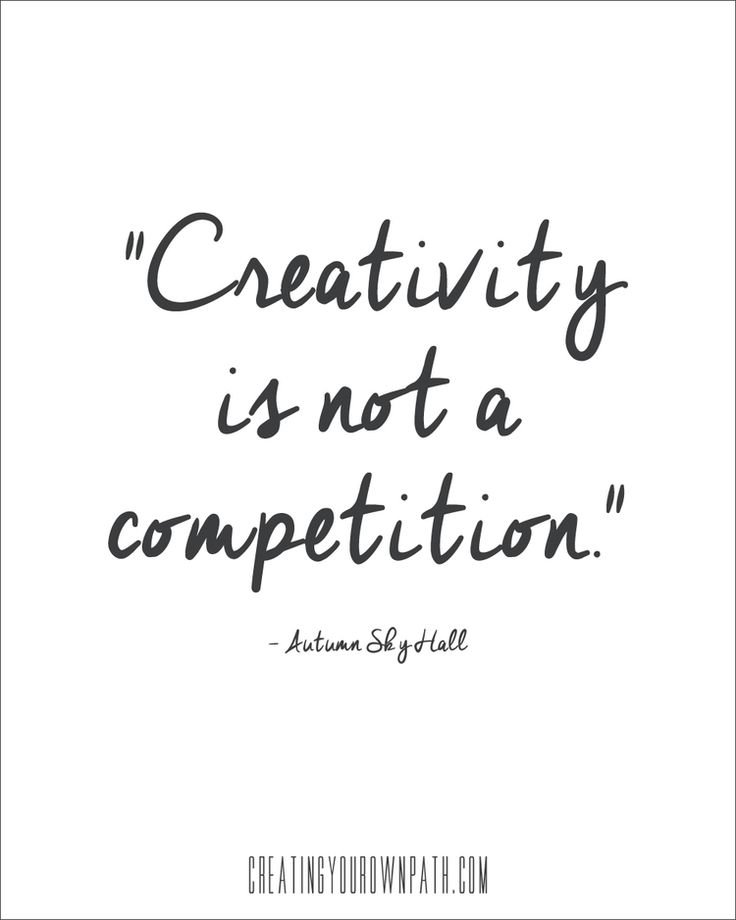 STOP COMPETING