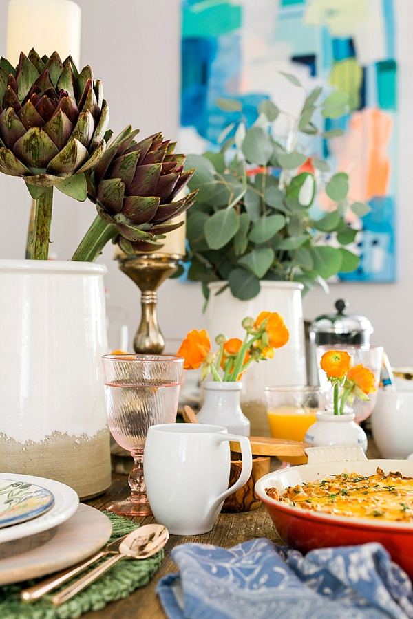 How to set a casual table for brunch, Waiting on Martha
