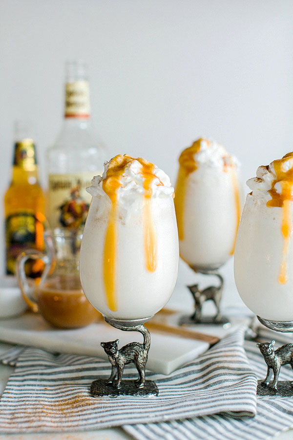 Homemade butterbeer recipe via Waiting on Martha