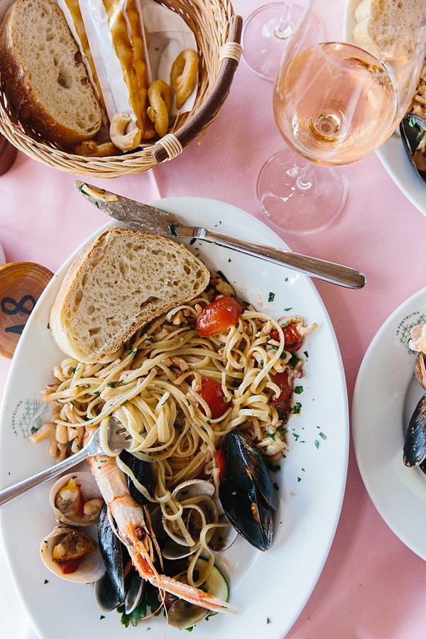 Pasta on repeat in Italy