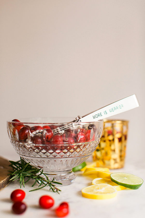 Pear, Apple & Cranberry Sparkling Sangria recipe