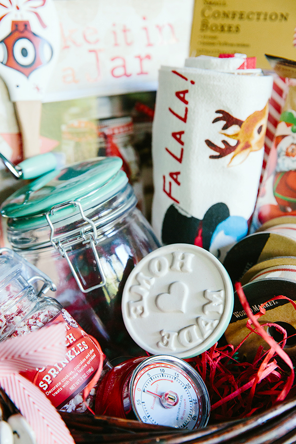 Holiday gift basket ideas for the baker via Waiting on Martha