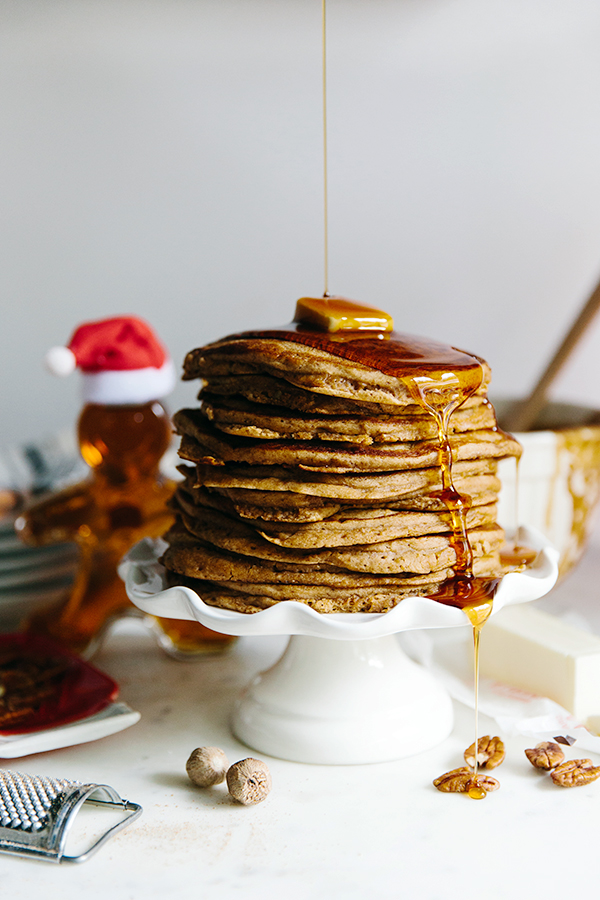 Gingerbread pancakes with World Market via Waiting on Martha #sponsored #WMAffiliate