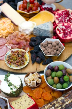 Easy cheese & charcuterie board #recipe by Waiting on Martha
