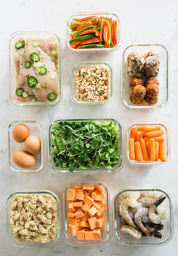 Meal Prep Ideas via Waiting on Martha