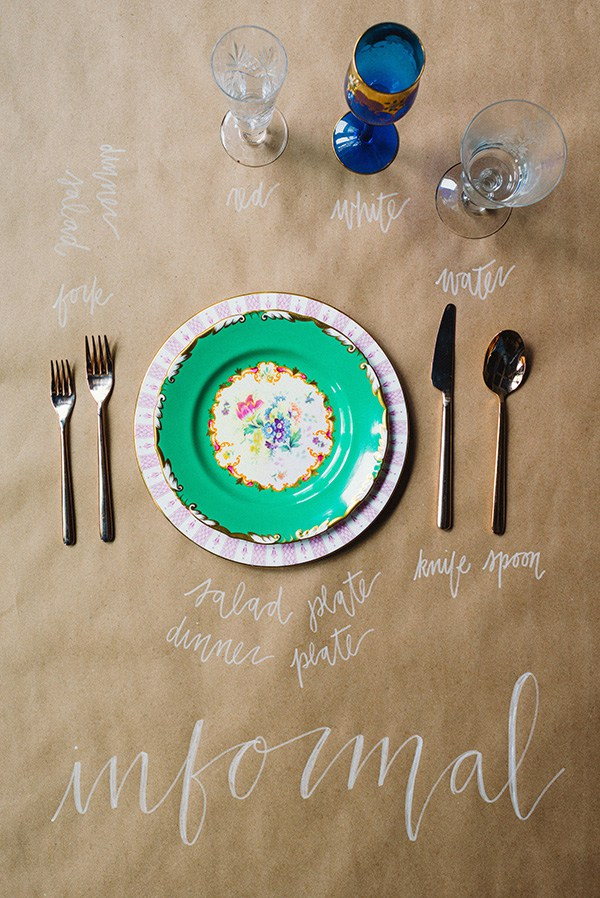 How to set a table: informal place settings | Waiting on Martha