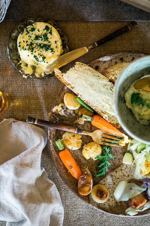 Homemade Irish Soda Bread and Braised Beef Short Ribs