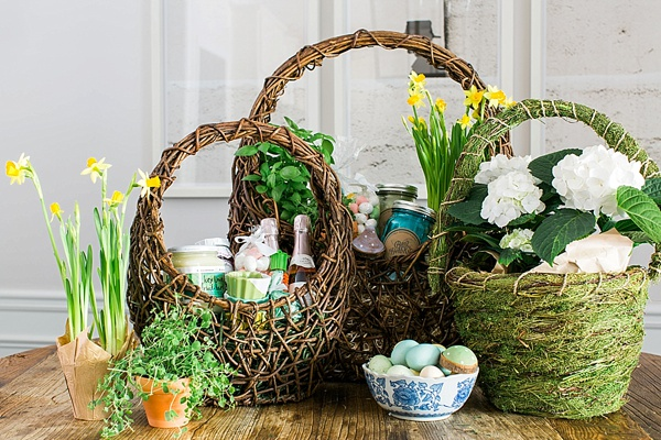 Adult Easter Basket Ideas via Waiting on Martha