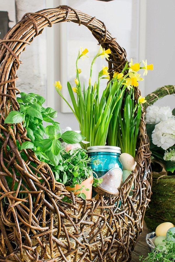 DIY Adult Easter Basket Ideas | Inspiration via Waiting on Martha
