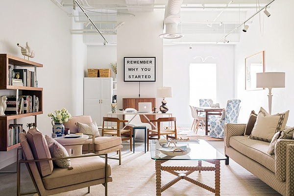 Waiting on Martha office inspiration with soft neutrals