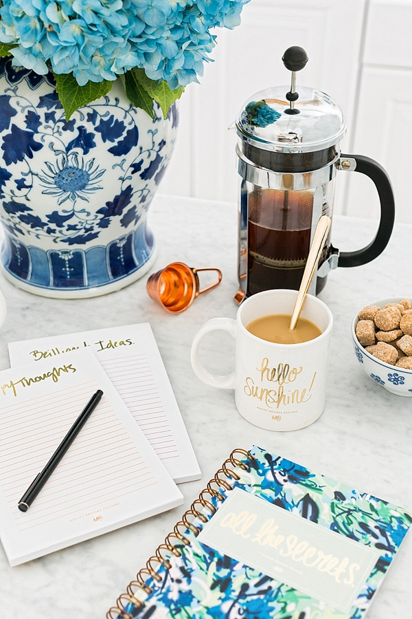 Office morning routine with Ashley Brooke Designs, Waiting on Martha